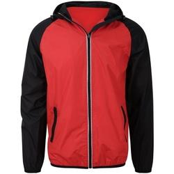 textil Herre Sportsjakker Awdis JC062 Fire Red/Jet Black