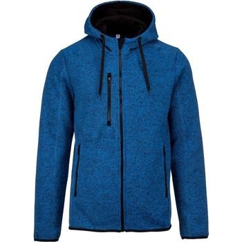 textil Herre Sweatshirts Proact PA365 Light Royal Blue Melange