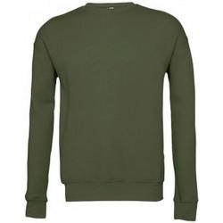 textil Sweatshirts Bella + Canvas BE045 Military Green
