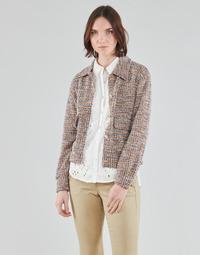 textil Dame Jakker / Blazere Cream CHANA JACKET Flerfarvet