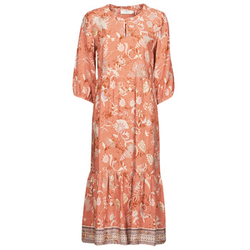 textil Dame Lange kjoler Cream JOHUI DRESS Orange