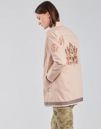 textil Dame Jakker / Blazere Cream OFELIA JACKET Pink