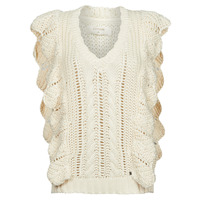 textil Dame Pullovere Cream ANNOLINA KNIT SLOPOVER Hvid