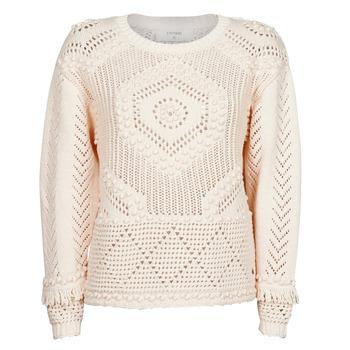 textil Dame Pullovere Cream CELESTE KNIT Beige