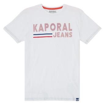 textil Dreng T-shirts m. korte ærmer Kaporal EZIO Hvid