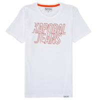 textil Dreng T-shirts m. korte ærmer Kaporal MAIL Hvid