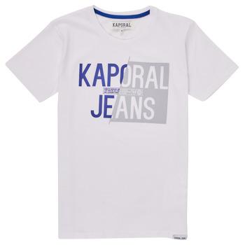 textil Dreng T-shirts m. korte ærmer Kaporal MAYO Hvid