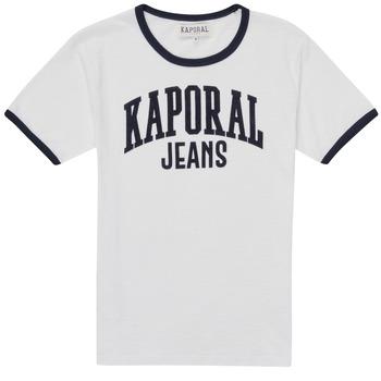 textil Dreng T-shirts m. korte ærmer Kaporal METRO Hvid