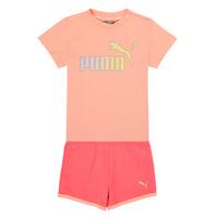 textil Pige Sæt Puma BB SET ABRI Pink