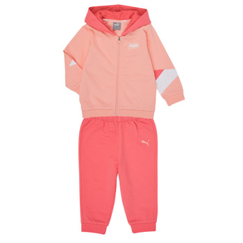 textil Pige Sæt Puma BB MINICATS REBEL Pink / Grå