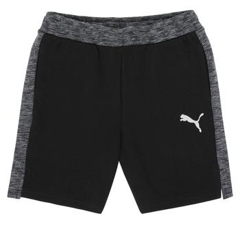 textil Dreng Shorts Puma EVOSTRIPE SHORTS Sort