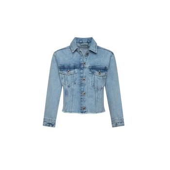 textil Pige Cowboyjakker Pepe jeans NICOLE JACKET Blå