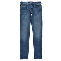 textil Dreng Jeans - skinny Pepe jeans FINLY Blå