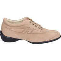Sko Dame Sneakers Hogan Sneakers BK586 Beige
