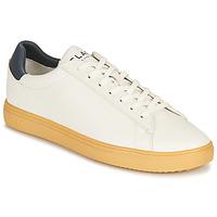 Sko Lave sneakers Clae BRADLEY CACTUS Hvid / Blå