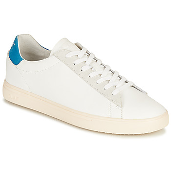 Sko Lave sneakers Clae BRADLEY CALIFORNIA Hvid / Blå