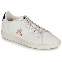 Sko Dame Lave sneakers Le Coq Sportif COURTSET Hvid / Sort