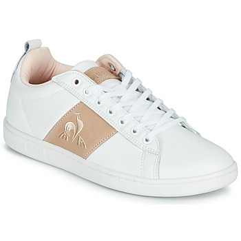 Sko Dame Lave sneakers Le Coq Sportif COURTCLASSIC Hvid / Pink
