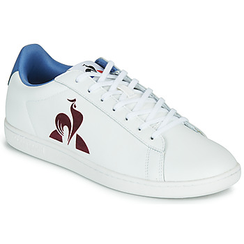 Sko Herre Lave sneakers Le Coq Sportif MASTER COURT Hvid / Blå