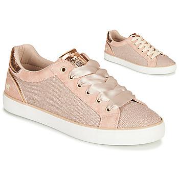 Sko Dame Lave sneakers Mustang MANIK Pink