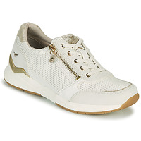 Sko Dame Lave sneakers Mustang ANINTA Hvid / Guld