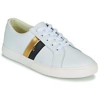Sko Dame Lave sneakers Lauren Ralph Lauren JANSON II Hvid / Guld