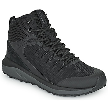 Sko Herre Vandresko Columbia TRAILSTORM MID WATERPROOF Sort