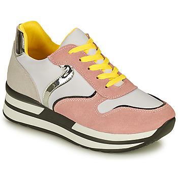 Sko Dame Lave sneakers Elue par nous JORONA Pink