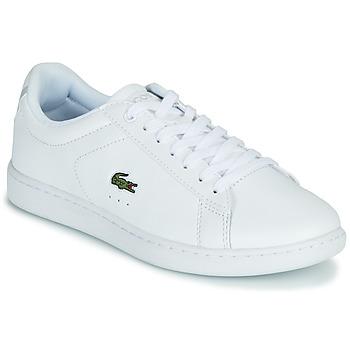 Sko Dame Lave sneakers Lacoste CARNABY EVO BL 21 1 SFA Hvid