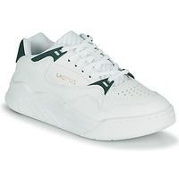 Sko Dame Lave sneakers Lacoste COURT SLAM 0721 1 SFA Hvid / Grøn