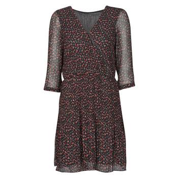 textil Dame Korte kjoler Moony Mood NOULINE Sort / Rød