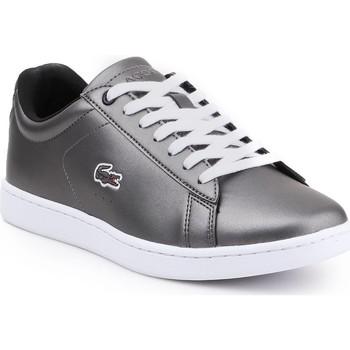 Sko Dame Lave sneakers Lacoste Carnaby Evo 317 7-34SPW0010024 silver