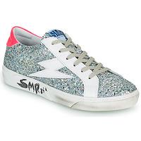 Sko Dame Lave sneakers Semerdjian CATRI Sølv / Pink