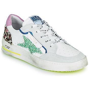 Sko Dame Lave sneakers Semerdjian ARTO Hvid / Grå / Blå