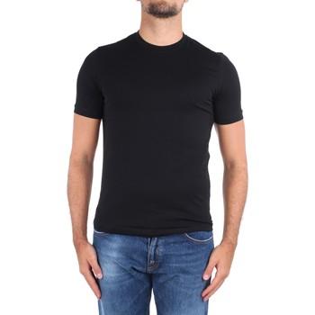 textil Herre T-shirts m. korte ærmer Cruciani CUJOSB G30 No Colour