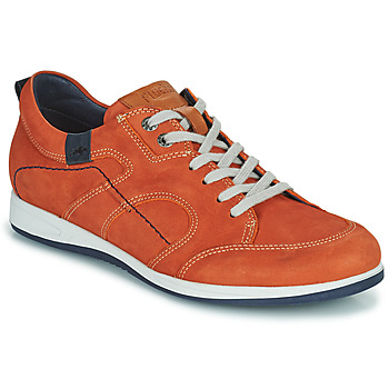 Sko Herre Lave sneakers Fluchos 9734-CRETA-CUERO Brun