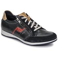 Sko Herre Lave sneakers Fluchos 0207-AFELPADO-MARINO Marineblå