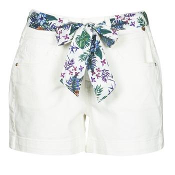 textil Dame Shorts Freeman T.Porter GINGER MUZEY Sne / Hvid