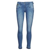 textil Dame Smalle jeans Freeman T.Porter ALEXA CROPPED S-SDM Blå
