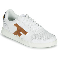 Sko Herre Lave sneakers Faguo HAZEL LEATHER Hvid / Brun