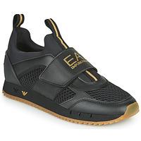 Sko Herre Lave sneakers Emporio Armani EA7 CALMONI Sort