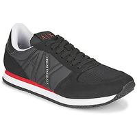 Sko Herre Lave sneakers Armani Exchange ESPACIA Sort / Rød