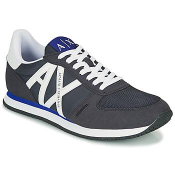 Sko Herre Lave sneakers Armani Exchange ESPACIA Blå / Marineblå