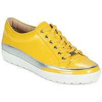 Sko Dame Lave sneakers Caprice 23654-613 Gul / Sølv