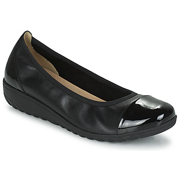 Sko Dame Ballerinaer Caprice 22103-026 Sort