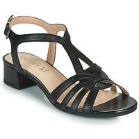 Sko Dame Sandaler Caprice 28201-022 Sort