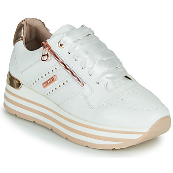 Sko Dame Lave sneakers Dockers by Gerli 44CA207-592 Hvid