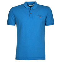 textil Herre Polo-t-shirts m. korte ærmer Napapijri ELBAS 4 Blå