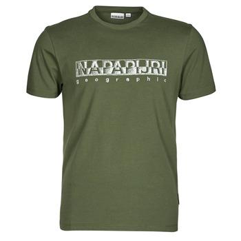 textil Herre T-shirts m. korte ærmer Napapijri SALLAR SS Grøn