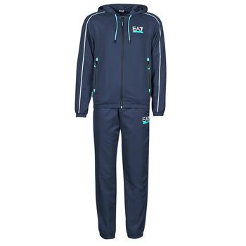 textil Herre Træningsdragter Emporio Armani EA7 3KPV02-PNP5Z-1554 Marineblå